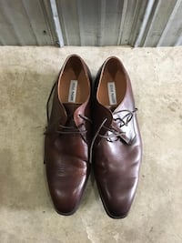 Steve Madden brown leather dress shoes Coquitlam, V3J 2X8