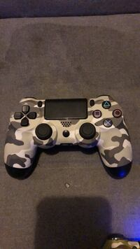 White and black camouflage sony ps4 controller  Washington, 20024