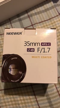 35 mm f/1.7 multi coated camera lens box Cheverly, 20785