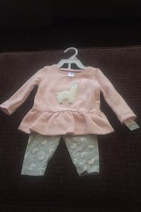 2 piece Sheep outfits size 9 months