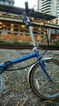Folding bike, excellent condition, no rust Coquitlam, V3J 3Y3