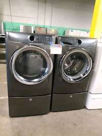 ELECTROLUX FRONT LOAD WASHER AND DRYER SET WITH PEDESTAL WORKING PERFE Baltimore, 21223