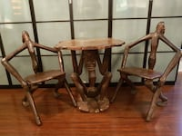 Mslydian hand crafted table and chairs Bradford West Gwillimbury, L3Z 1E5