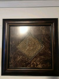 Beautiful frame, with beautiful design with jewels 21 1/2 inches lengt
