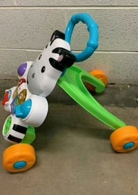 toddler's white and green ride-on toy 24 mi