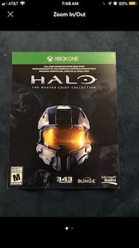 Halo Xbox One game case Hyattsville, 20783