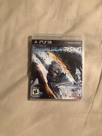 Metal Gear Rising: Revengeance (PS3) Metairie, 70005
