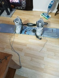 Snowboard and boots 3006 km