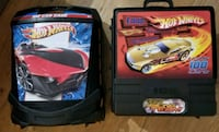 Hot Wheels Storage Suitcases  - Holds Over 100 Car Manassas, 20110