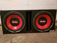 "Subs  2 12"" speakers in Ported Box Toledo, 43606"