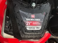 black and red Craftsman push mower Greater Napanee
