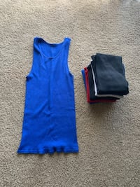 Wife beater tank tops Indianapolis, 46222