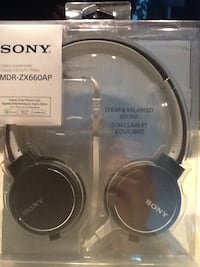 Head phones / sony mdr zx660ap / Black Toronto, M2P 2A3