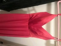 red and sleeveless brides maid/formal dress Gaithersburg, 20878