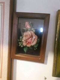 white and pink flowers painting London, N6E 2K4