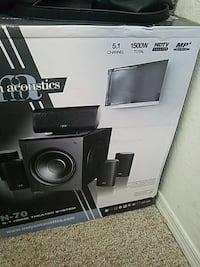 N-70 home theater system box Orlando, 32825