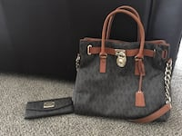 Michael Kors tote and wallet