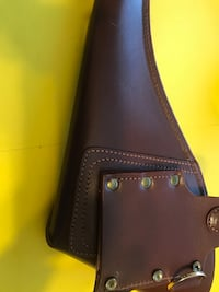 Leather gun holster.. new condition  Edmonton, T5H 2W2
