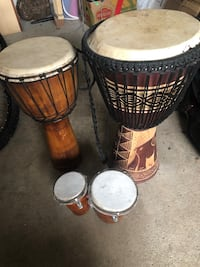 Authentic African drums  Richmond Hill, L4C 0J9