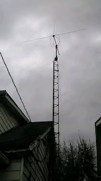 Base cb tower with directional antenna 229 mi
