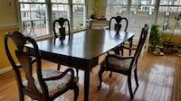 Dining room table and 4 chairs  STERLING