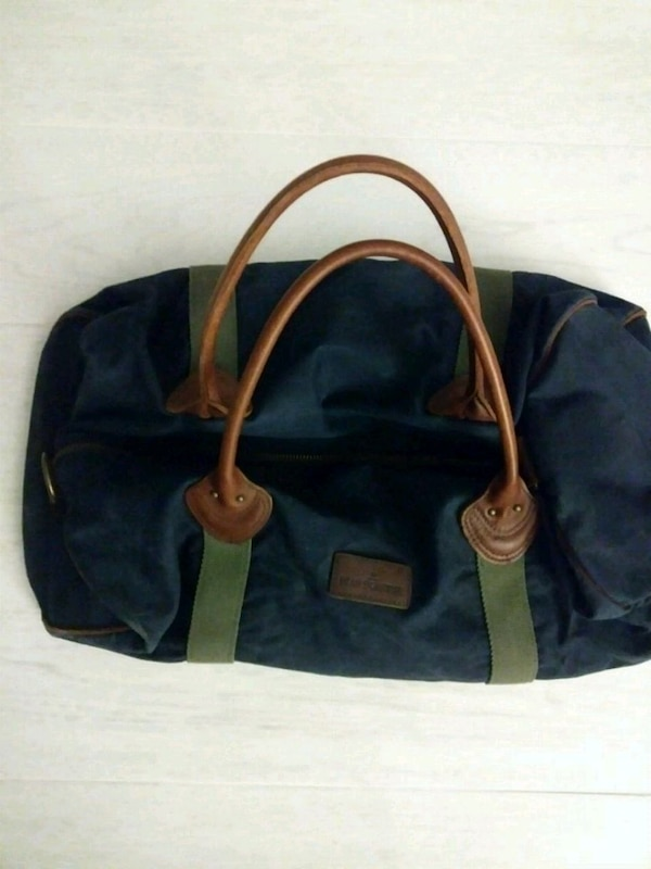 2fd2162e14c Used Blue Waxed Canvas Duffle Bag for sale in Fort Lauderdale - letgo