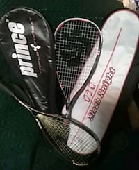 Squash Rackets almost new!!! Prince and Black knight great price! Edmonton, T5L 3R3