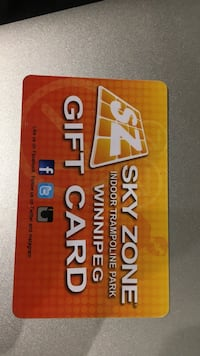 Sky Zone gift card Winnipeg, R2J 0R6
