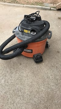 red and black Ridgid wet and dry vacuum cleaner Poway, 92064