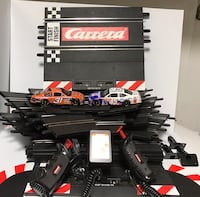 Carrera Evolution 132 Scale slot car 1/30 High Banked Curves Oval race set with 2 cars  Keyport, 07735