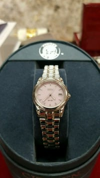 CITIZEN ECO-DRIVE WATCH WITH PINK DIAL IN BOX Brandon, 33511