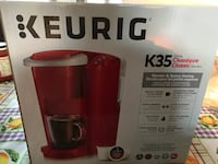 Brand new Keurig K35. Brand new box never opened. Paid $98 plus tax Vaughan, L4L 6W9