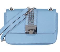 MK Tina Shoulder Strap Studded Bag