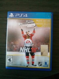 NHL 16 Deluxe Edition(PS4) Mississauga