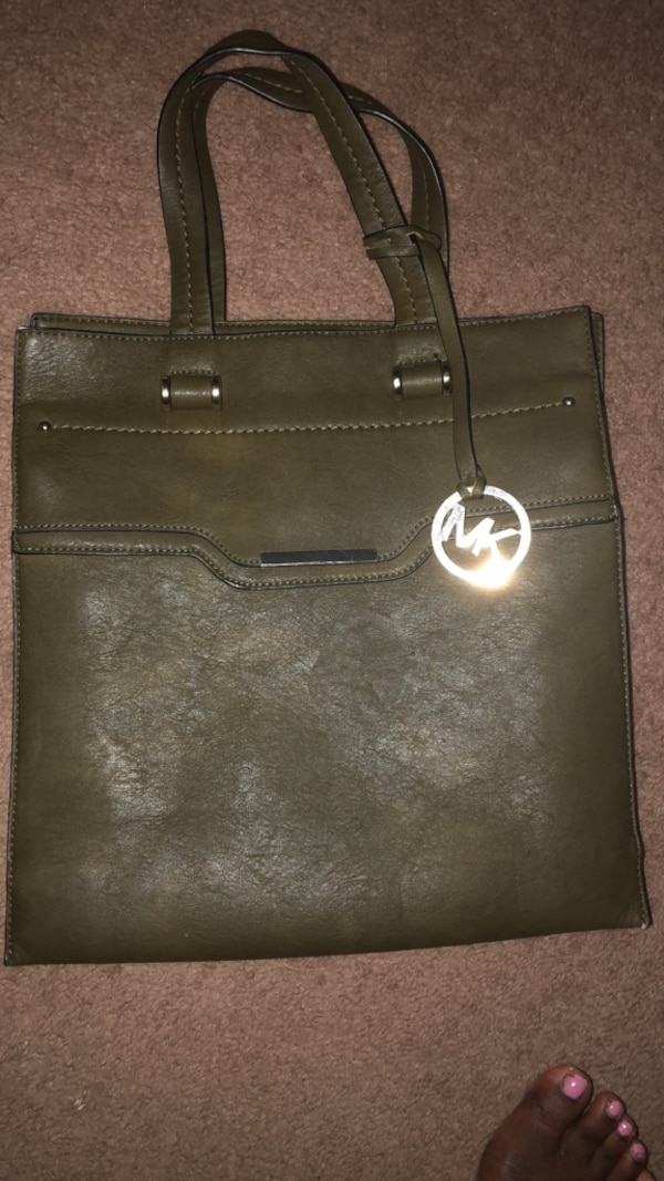 14f8966b6739 Used Olive green Michael Kors bag for sale in Norcross - letgo