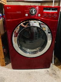 Red LG Electric Dryer  Sterling, 20165