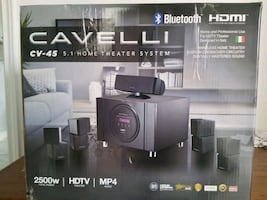 Cavelli cv-45 5.1 home theater system