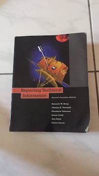 Reporting Technical Information book Toronto, M9W 7C9