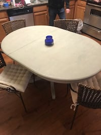 Table, chairs, and coffee table Austin, 78745