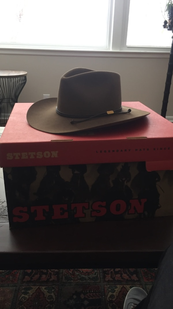 8999831ef4d7c Used Stetson 4x Beaver XXXX Size 7 1 8 for sale in Oak Hill - letgo