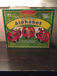 Learning the Alphabet with ladybug letters Mississauga, L5M 8C2