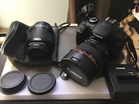 Canon rebel t6 with accessories