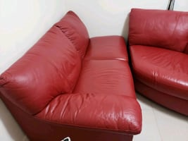 Brand new leather sectional couch