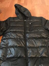 Black zip-up bubble jacket Arlington, 22204