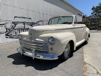 1948 Ford Super Deluxe No trim field Benicia