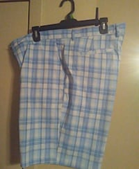 men's blue and white shorts Cosby, 37722