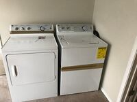 White washer and dryer set Dallas, 75254