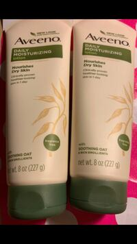 Aveeno Daily Moisturizing Body Lotion with Soothing Oat and Rich Emollients to Nourish Dry Skin, Fragrance-Free, 8 oz (pack of 2) Menomonee Falls, 53051
