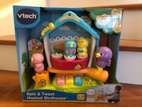 BNIB GIFTABLE VTech Spin & Tweet Musical Birdhouse Baby/Toddler Toy Ajax, L1Z 1C9