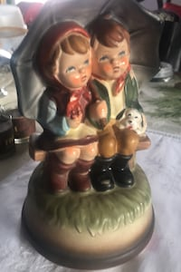 Figurine within a musical box